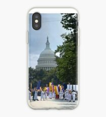 National Woman's Party marching in Washington D.C. May 21, 1922. iPhone Case