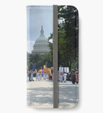 National Woman's Party marching in Washington D.C. May 21, 1922. iPhone Wallet/Case/Skin