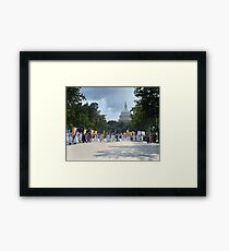 National Woman's Party marching in Washington D.C. May 21, 1922. Framed Print