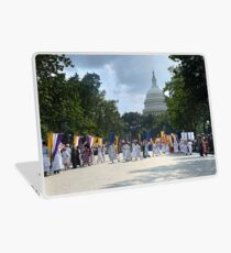 National Woman's Party marching in Washington D.C. May 21, 1922. Laptop Skin