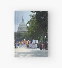 National Woman's Party marching in Washington D.C. May 21, 1922. Hardcover Journal