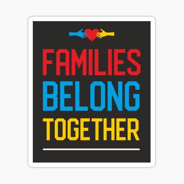 Families  Sticker