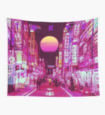 tokyo vaporwave Tapestry