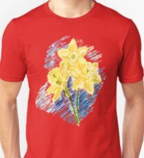 DAFFODIL SKETCH Unisex T-Shirt