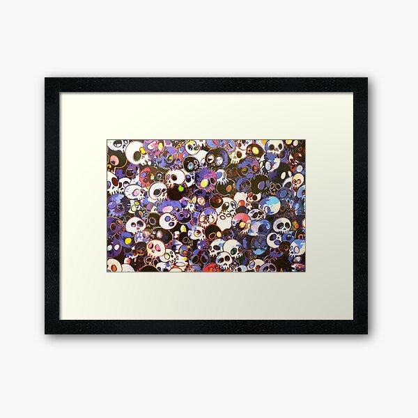 MURAKAMI X RAFE Framed Art Print