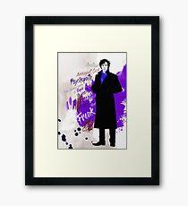 Sherlock Holmes (Phenomena) Framed Print