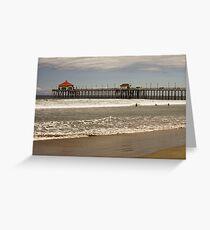 Huntington Beach Greeting Card