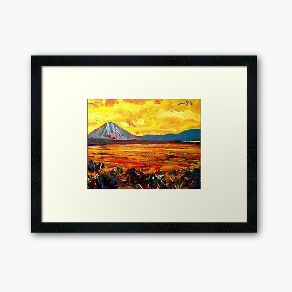 Errigal (County Donegal, Ireland) Framed Art Print