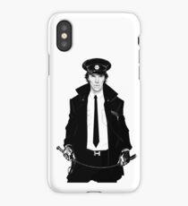 Sherlock BBC (Private Detective) iPhone Case