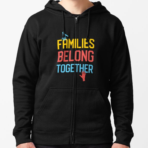 Families Zipped Hoodie