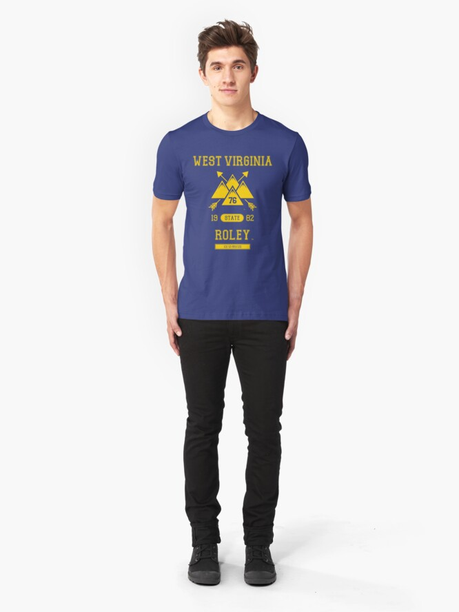 Alternate view of West Virginia Slim Fit T-Shirt