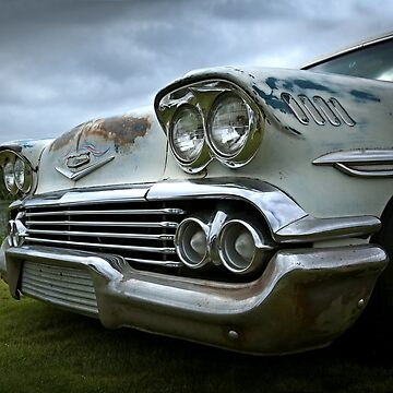 1958 Chevy Brookwood by mal-photography