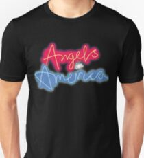 Angels in America Broadway Musical Play Theatre Gay LGBT Unisex T-Shirt