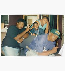Póster Diggin 'In The Crates Crew - Big L, Lord Finesse, Diamond D y Fat Joe