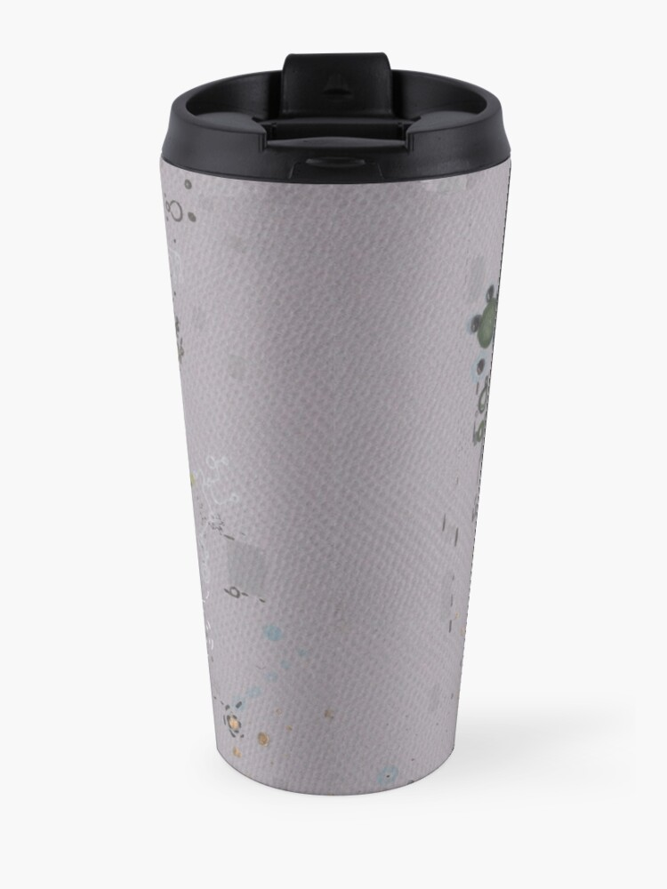 Alternate view of Occluded Meanings Travel Mug