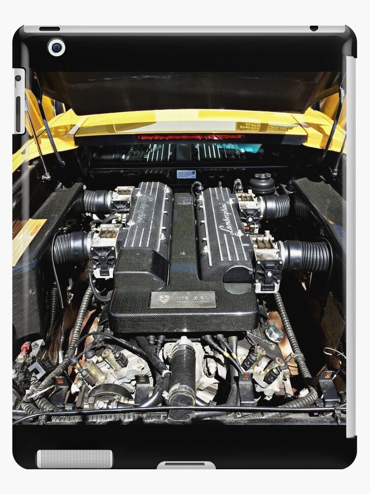 Vinilos Y Fundas Para Ipad Lamborghini Murcielago Engine Bay De