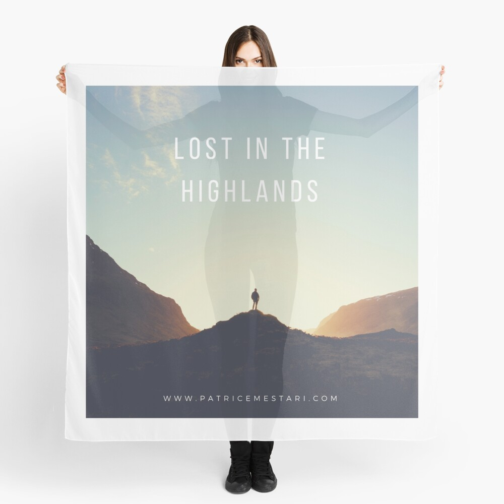 Foulard « Lost in the Highlands»
