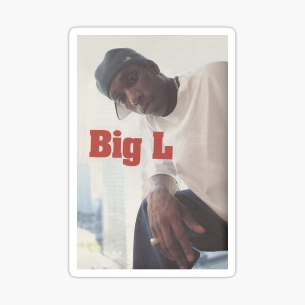 Big L Sticker