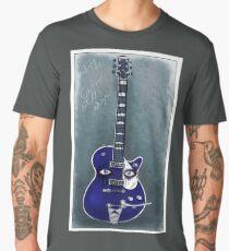 crying my guitar Men's Premium T-Shirt