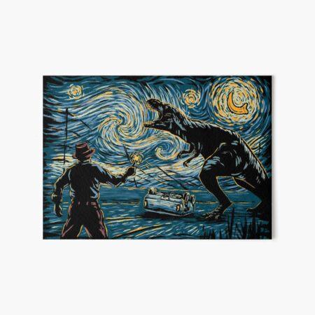 Jurassic Night Art Board Print