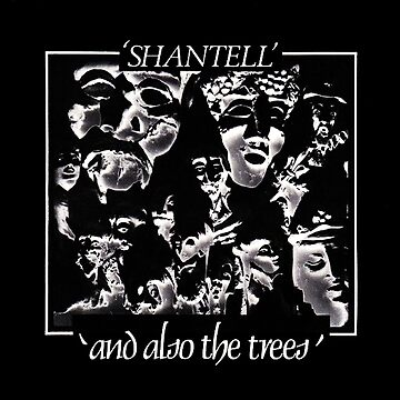 And Also The Trees Shantell artwork 80s underground music by Alessandra-C