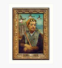 Mona Hilda Art Print