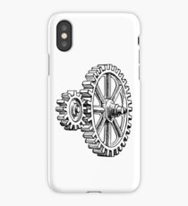 gears, gear, gearing, geared, grind, grinding, engrave, engraving, cog, cogs, iPhone Case