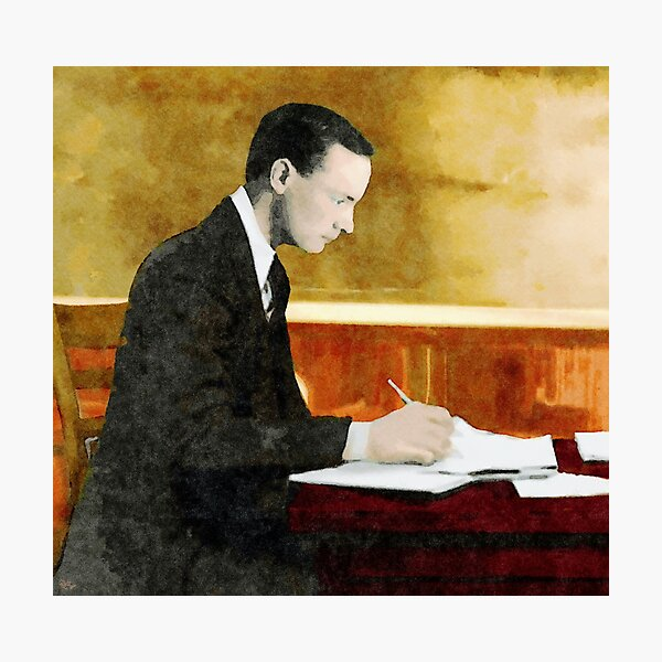 Padraig Pearse, 1879-1916, at St. Enda's Photographic Print