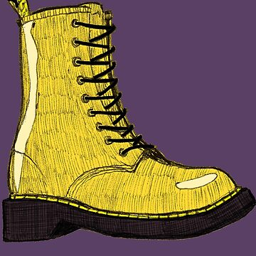 Doc Marten Yellow by dtkindling