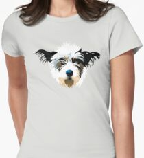 pooch Women's Fitted T-Shirt