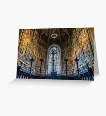 In the Cathedral at Loreto Italy Greeting Card