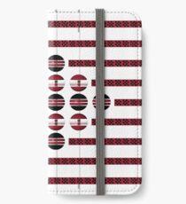 abstrakte Kunst iPhone Flip-Case/Hülle/Klebefolie