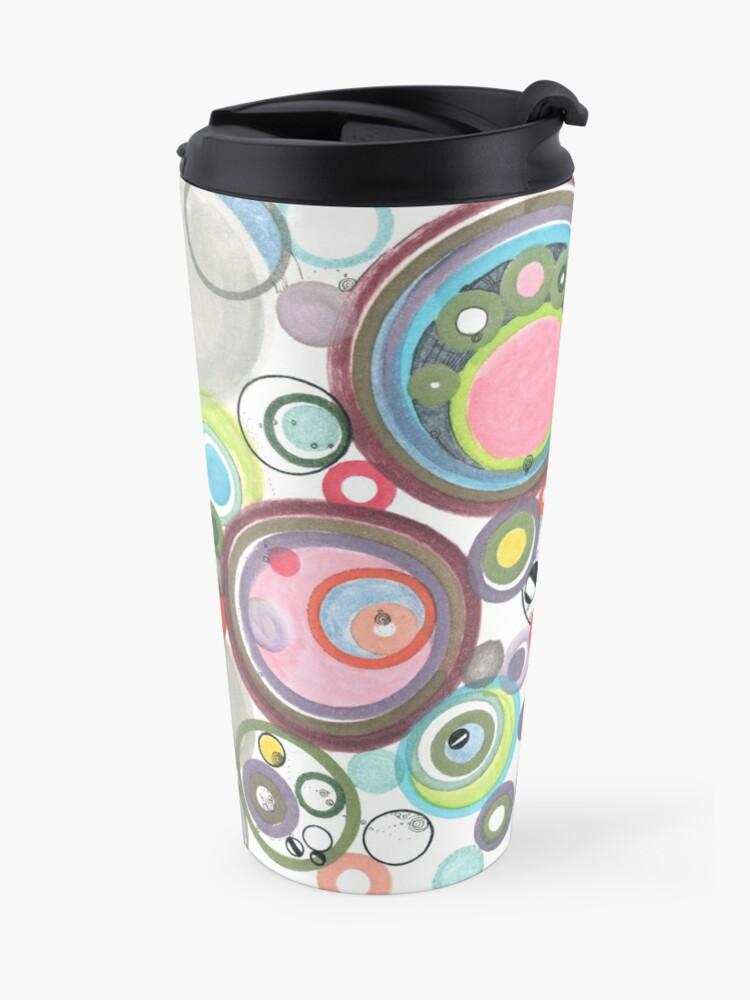 Alternate view of Groovy Effervescence Travel Mug