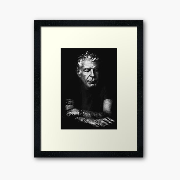 Anthony Bourdaim Framed Art Print