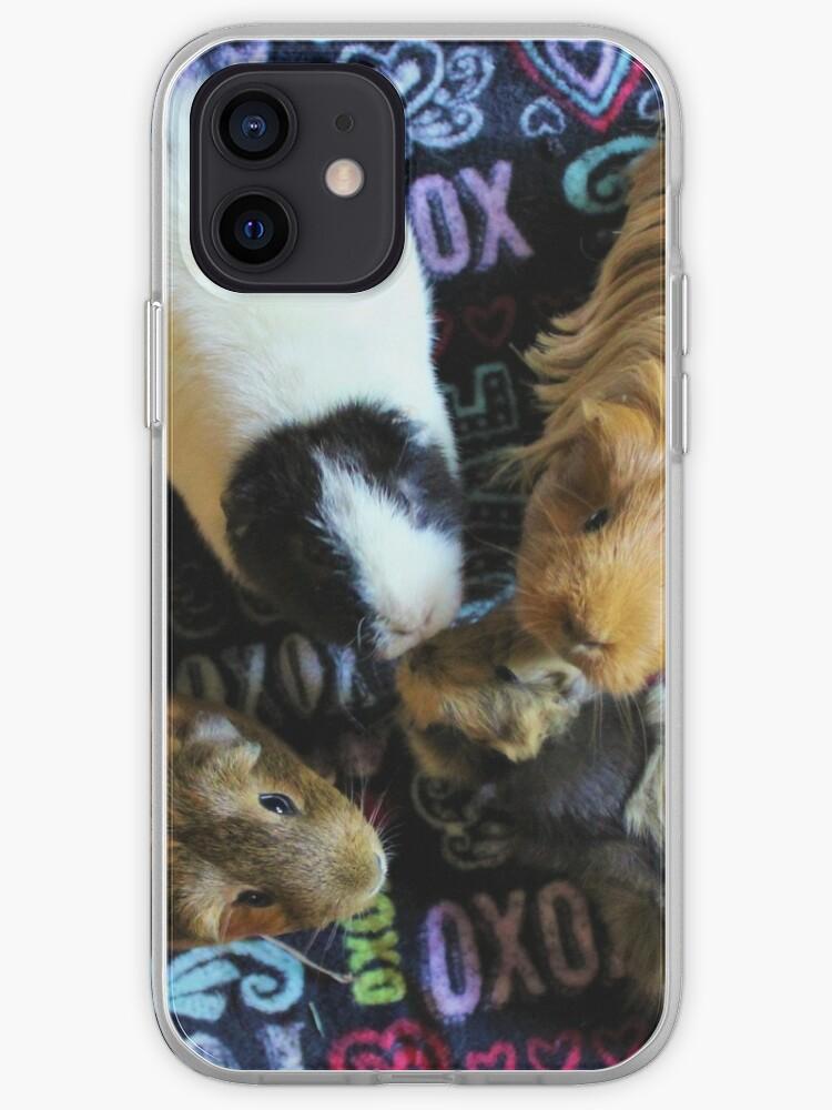 Cochons d'Inde   Coque iPhone