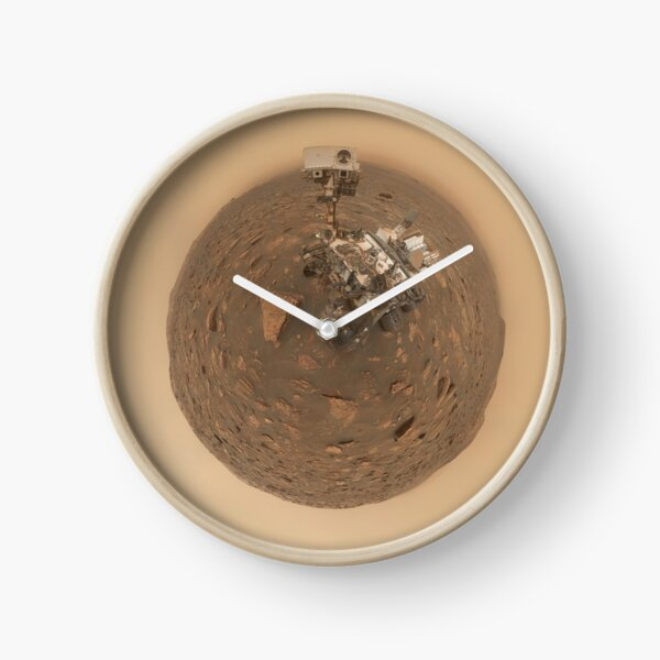 Dust Storm Selfie Clock