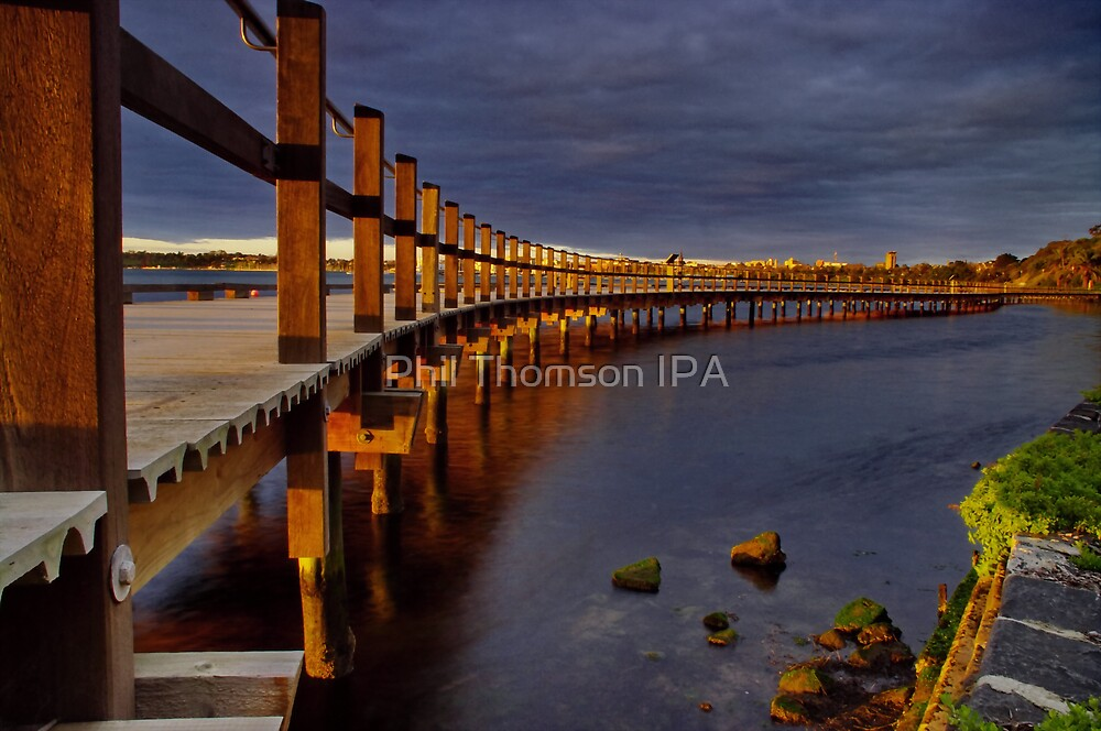 """""""Walk Over The Water"""" by Phil Thomson IPA"""