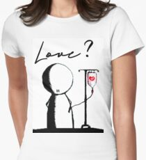 Do you need love? Women's Fitted T-Shirt