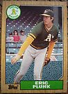 411 - Eric Plunk by Foob's Baseball Cards
