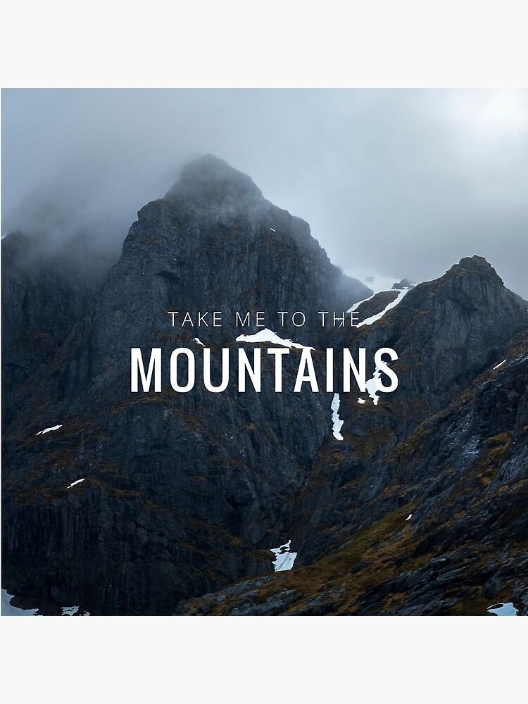 «Take me to the Mountains» par patricemestari
