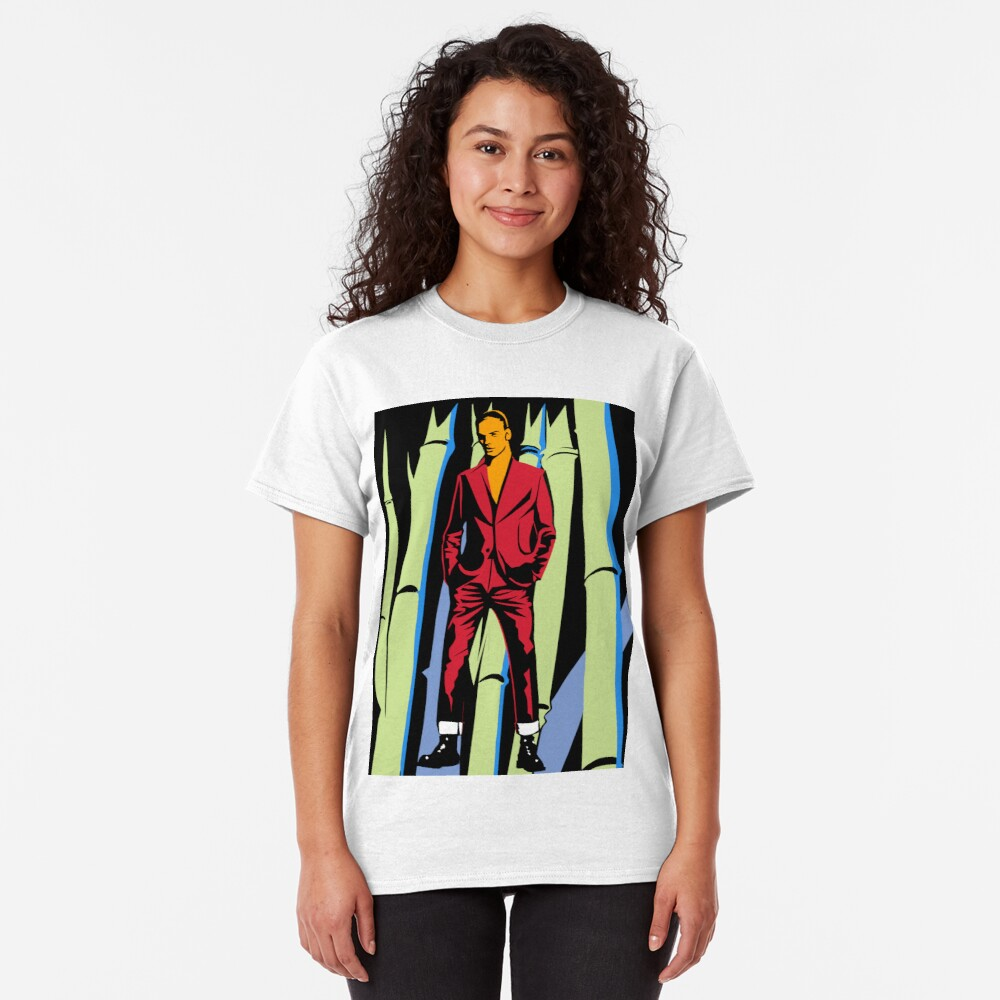 Figure with Bamboo Classic T-Shirt