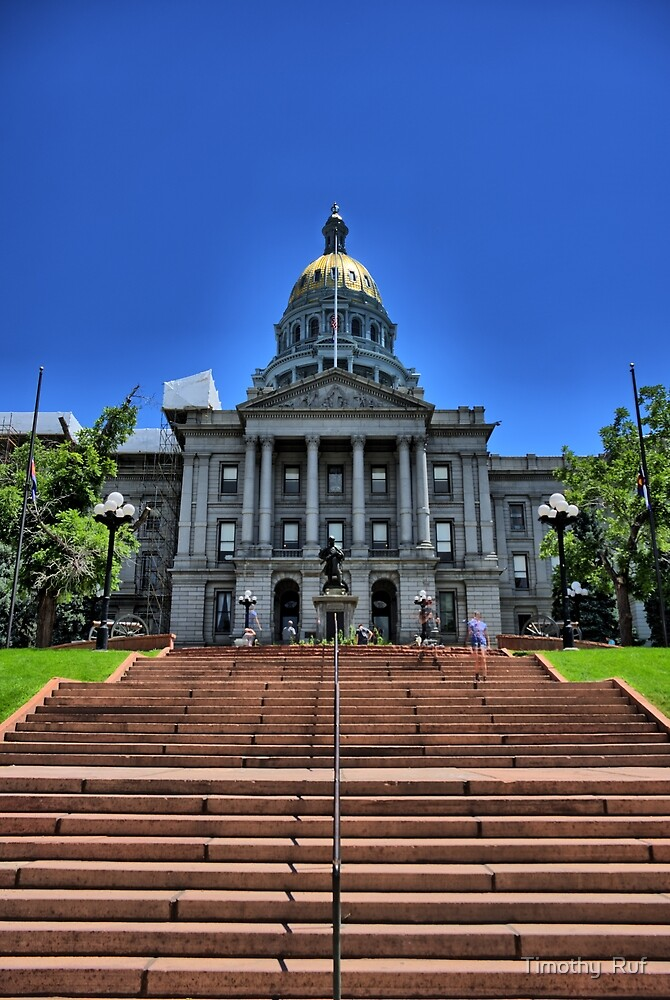 Colorado Capitol Building by Timothy  Ruf