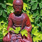 Garden Buddha by Tamara Valjean