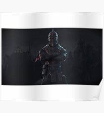 Chevalier Noir Fortnite Posters Redbubble