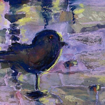 Bird (Mixed Media) by nikihilsabeck