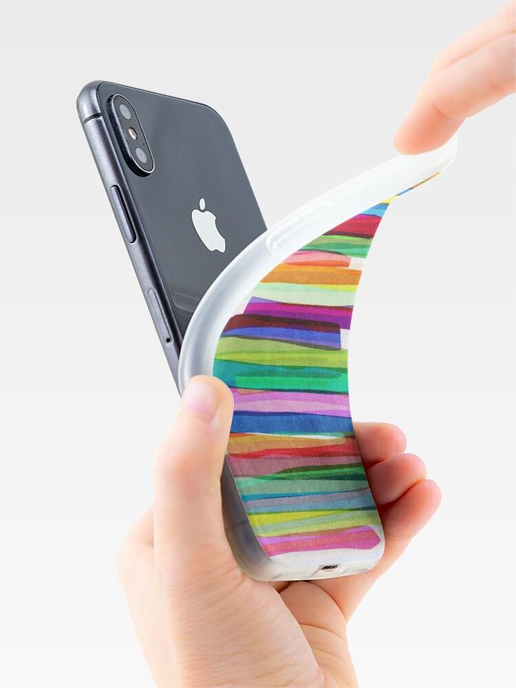 Alternative Ansicht von Colorful Stripes 1 iPhone-Hüllen & Cover