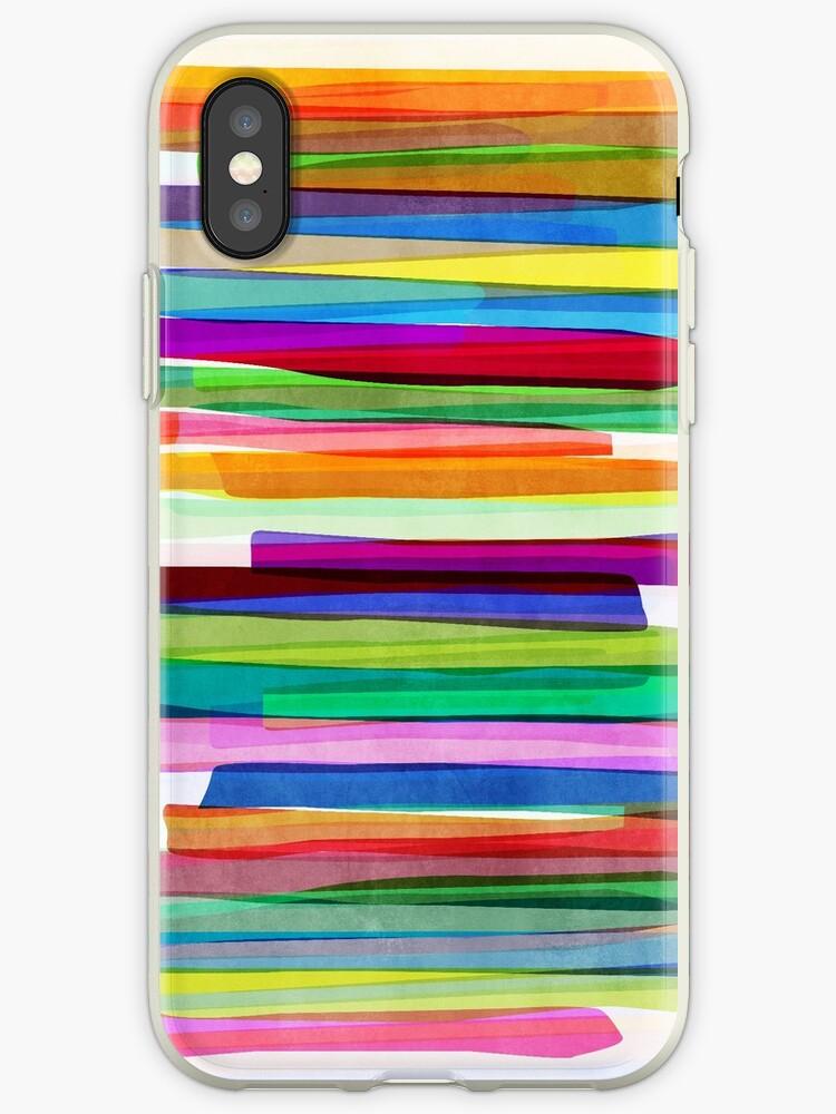 Colorful Stripes 1 von Mareike Böhmer