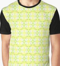 apple vector texture seamless colorful repeat pattern Graphic T-Shirt