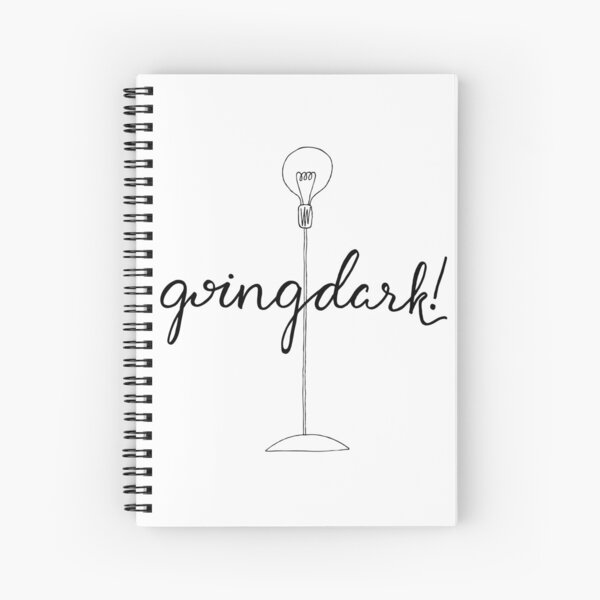 Going Dark! Spiral Notebook