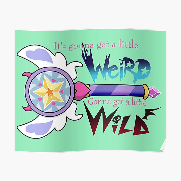 Star Wand Poster